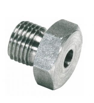 Metric welding nipples 60° cone