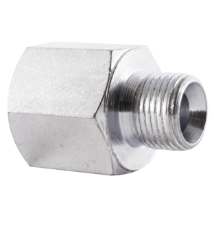 reducing adaptor bspp male 60° cone- bspp female