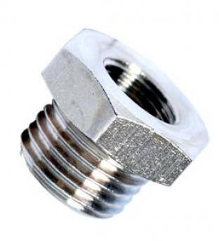 reducing plug male bspp 60° cone - female bspp