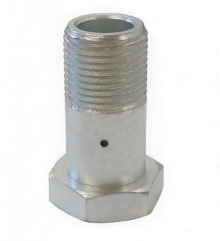 Bspp bolt calibrated hole